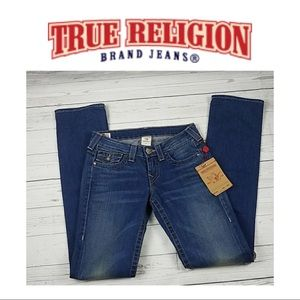 True Religion Jeans NWT Straight leg Size 27